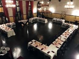 Rectangle Tables Wedding Reception A Cozy And Intimate Wedding Reception Layout Utilizing