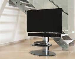 off the wall motion silver cantilever tv stand main image