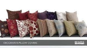 Bed Bath Beyond Decorative Pillows