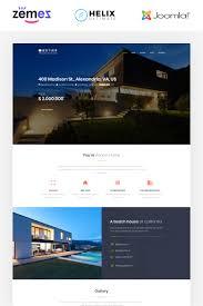 Best Joomla Real Estate Templates Template Monster