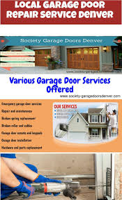 If You Are Supporting Local Garage Door Repair Service In Denver ...