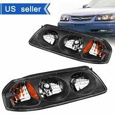2005 Chevy Impala Fog Lights For 2000 2005 Chevy Impala Pair Black Housing Amber Turn