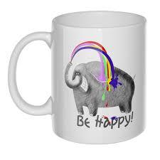 <b>Кружка Be happy</b> - купить онлайн в интернет-магазине
