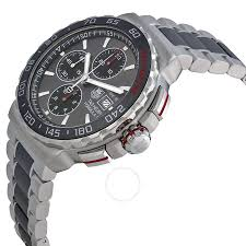 tag heuer formula 1 anthracite dial steel and ceramic chronograph ba0873 tag heuer formula 1 anthracite dial steel and ceramic chronograph men s watch cau2011