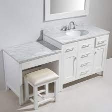 60 Inch Bathroom Vanity Single Sink Left Side Image Of Bathroom And Closet