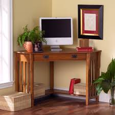 Furniture:Small Corner Computer Desk For Home With Drawers And Bookshelves  Ideas Small Ergonomic Corner