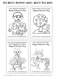 Small Picture Healthy Valentines Day Activities for Kids Printable Cards
