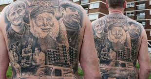 only fools and horses superfan of beloved tv comedy gets incredible tattoo tribute mirror