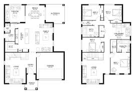 master bedroom upstairs and other bedrooms downstairs house plans two story australia double home 11