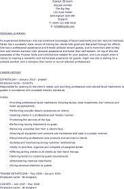 Esthetician Resume Esthetician Resume Templates Download Free Premium Templates 88
