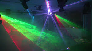 home disco lights synchronized to 5 scanners moving heads lasers dmx controlled you