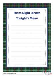 Craft with marshmallows and help kids learn how to spell their name with this delicious winter craft idea. Burns Night Activities For Kids