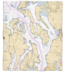Wa Puget Sound Northern Wa Nautical Chart Blanket Island