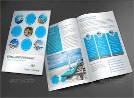 Travel Company Brochure 51 Best Travel Brochures Examples 2018