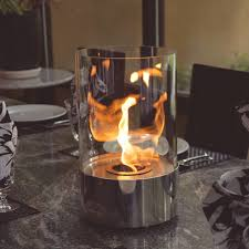 nu flame accenda tabletop glass bio fuel fireplace