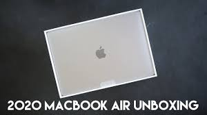 """Unboxing the 2020 13"""" MacBook <b>Air</b> in Space <b>Gray</b> - YouTube"""