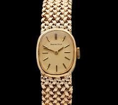 bueche girod 18k yellow gold watch ladies 1960 s com019 second 18k yellow gold watch 18k yellow gold ladies 1960 s