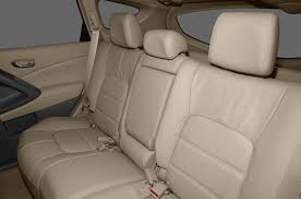2016 nissan murano suv s 4dr front wheel drive interior back seats