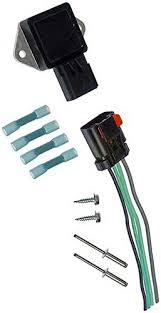 amazon com apdty 013414 radiator fan control relay and wiring Radiator Fan Wiring Harness apdty 013414 radiator fan control relay and wiring harness pigtail connector (replaces oe 5017491ab, radiator fan wiring harness for 99 silhouette
