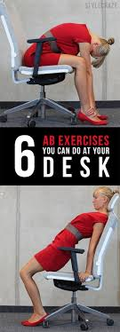abdominal exercises while sitting at your desk ayresmarcus exercise at desk abs ayresmarcus