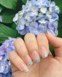 青ネイルのおすすめデザイン夏らしい青ネイルでおしゃれさをプラス