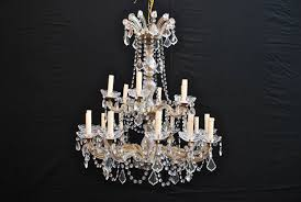 american large crystal chandelier maria theresa style for