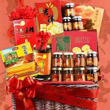 Hearts and loves, red and sentimental, these gifts gonna make him feel touched. Waist Tonic Singapore Lunar Year Gift Basket Free Delivery