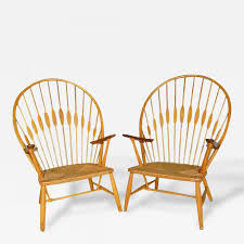 Scandinavian modern furniture Pamono Two Vintage Peacock Chairs By Hans Wegner Circa 1960 Model Jh550 These Chairs Were Made By Johannes Hansen Ash Teak And Paper Cord Signed Incollect 11 Scandinavian Midcentury Modern Furniture Design Pioneers Whose
