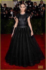 Maggie Q Looks Super Classy in Black at Met Ball 2014