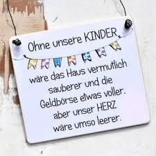 Holzschild Mit Spruch Ohne Kinder Wäre Unser Geldbeutel Voller
