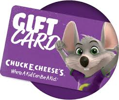 chuck e cheese s gift card