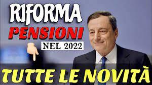 RIFORMA PENSIONI DAL 2022 👉 DRAGHI HA DECISO DI NON RINNOVARLA!! 📄 -  YouTube