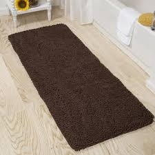 lavish home memory foam bath mat 24 x 60