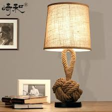 industrial table lamp rope table lamps led bedroom lamps bedsi vintage industrial table lamp mesa vintage