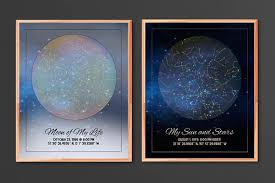 Birthday Sky Chart My Sky Custom Star Map Game Of Thrones Fans Will Recognize