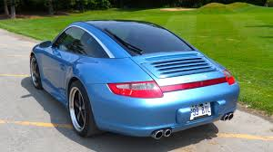 CPO: 2008 Porsche 911 Carrera 4 Paint to Sample Vintage Iris Blue ...