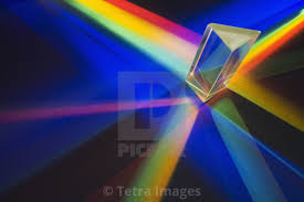 Light Through A Prism Light Passing Through A Prism License Download Or Print