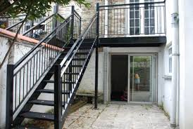 balcony stairs for garden