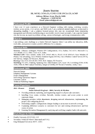 18 Ccnp Resume Sample For Freshers Network Engineer Resume