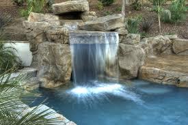 Diy Pool Waterfall Design614461 Diy Pool Waterfall Best Pool Waterfalls Ideas For