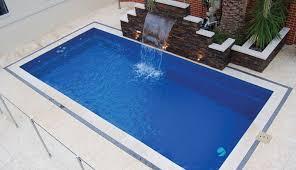reflection model small fiberglass pool