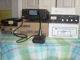 alinco dx sr8 alinco ems 14 desk mic alinco dm 330 power supply mfj 941 e tuner donner digital interface all equipment comes with