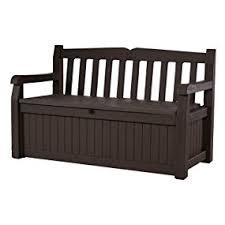 furniture deck. keter eden garden bench outdoor storage deck box poolside yard furniture
