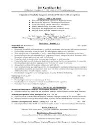 Cover Letter Housekeeper Resume Objective Executive Housekeeper