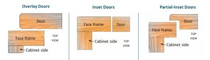 overlay door types for face frame cabinets