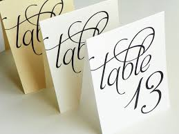 Table Numbers Printable Wedding Table Card Template Diy Editable