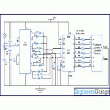 diagram for random number generator using segment circuit diagram for random number generator using 7 segment