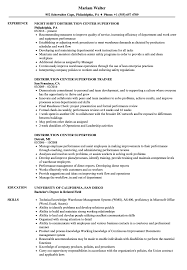 Supervisor Responsibilities Resume Distribution Center Supervisor Resume Samples Velvet Jobs 8