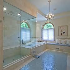 bathroom glass floor tiles. Interior Design Mosaic Glass Tile Bathroom In Artistic Tone: Floor Luxury Idea Tiles A