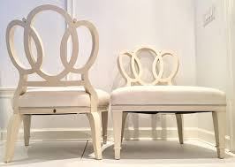 amazing barbara barry for henredon bracelet chair pair of two at 1stdibs barbara barry dining room chairs prepare